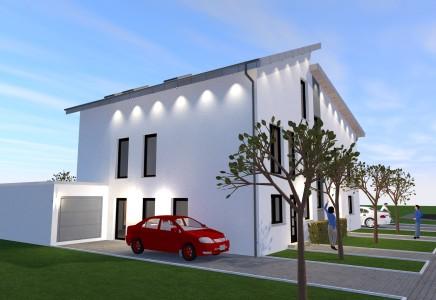 Neubauvorhaben ! 41179 M'gladbach, moderne u. kreative Doppelhaushälfte mit Flair